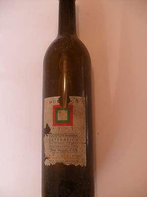 1997er Morillon trocken 11,5 %vol Pichler-Schober 0,75 lt Südsteiermark