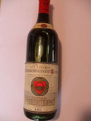 1983er Kellerei Kaltern Grauvernatsch 12 % vol Südtirol