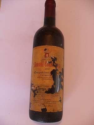 2000er Barone Cornocchia Cerasuolo d`Abruzzo 12 % vol 0,75 lt Italia