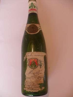 1983 Morillon halbsüss Dreisiebner 0,75 lt Südsteiermark
