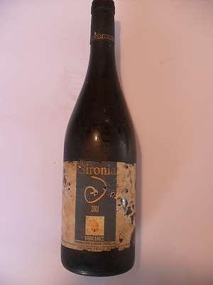 2001er Biferno bianco Gironia Italia 0,75 lt