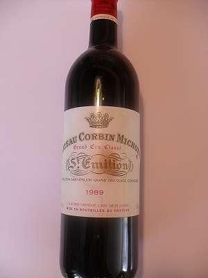 1989er Chateau Corbin Michotte Grand Cru Classé St. Emilion 0,75 lt