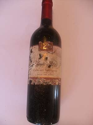 1997 Cabernet Sauvignon Santa Rita 120 0,75 lt Chile