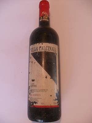 1991er Chianti Classico Riserva 12,5 % vol Conti Capponi 0,75 lt Italia