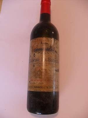 1996er Chateau La Baronne Montagne D´Alaric Corbieres 12 % vol 0,75 lt France