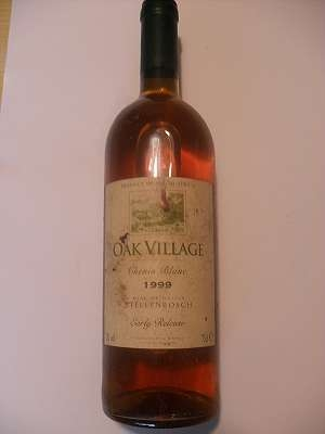1999er OAK VILLAGE Stellenbosch 12 % vol 0,75 lt Chenin Blanc Südafrika