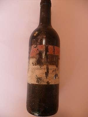 1993er Cabernet Sauvignon Vin de Pays D´OC NEURAN 12 %vol 0,75 lt Frankreich