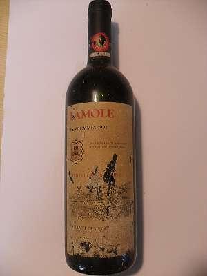 1991er Lamole Chianti Classico, Castelli del Grevepesa 0,75 lt Italia