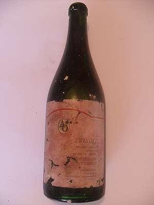 1993er Zweigelt ORGL 12 % vol Bergwein 0,75 lt Südsteiermark