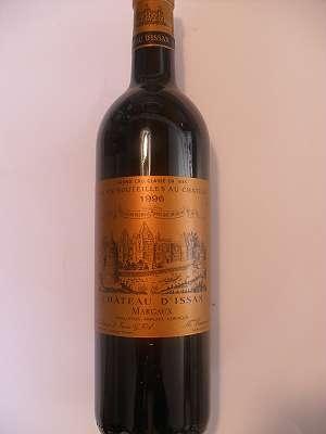 1996 CHATEAU D`ISSAN MARGAUX GRAND CRU CLASSÈ BORDEAUX 0,75 lt