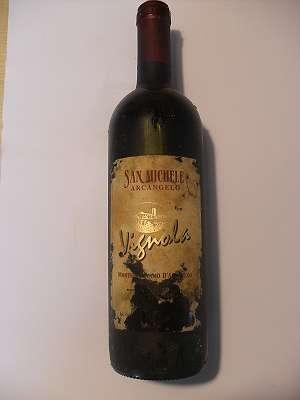 2001er Vignola MONTEPULCIANO D´ABRUZZO 12,5 %VOL 0,75 lt Arcangelo