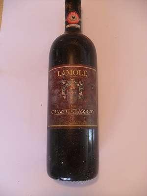 1996er Lamole Chanti Classico Grevepesa 13 %vol 0,75 lt Italia