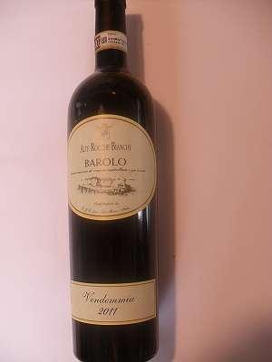 2011er Barolo Alte Rocche Bianche La Morra 14,5 %vol 0,75 lt