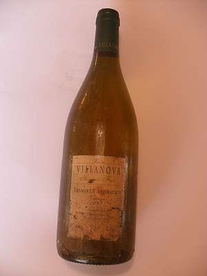 1997er Traminer Aromatico Tenuta Villanova Friuli 12,5 %vol 0,75 lt Italia