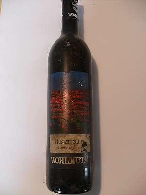 1997er Wohlmuth Muskateller 12 % vol 0,75 lt Südsteiermark